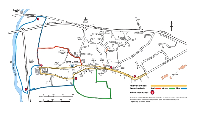 Opening of the Biddenham Heritage Trail