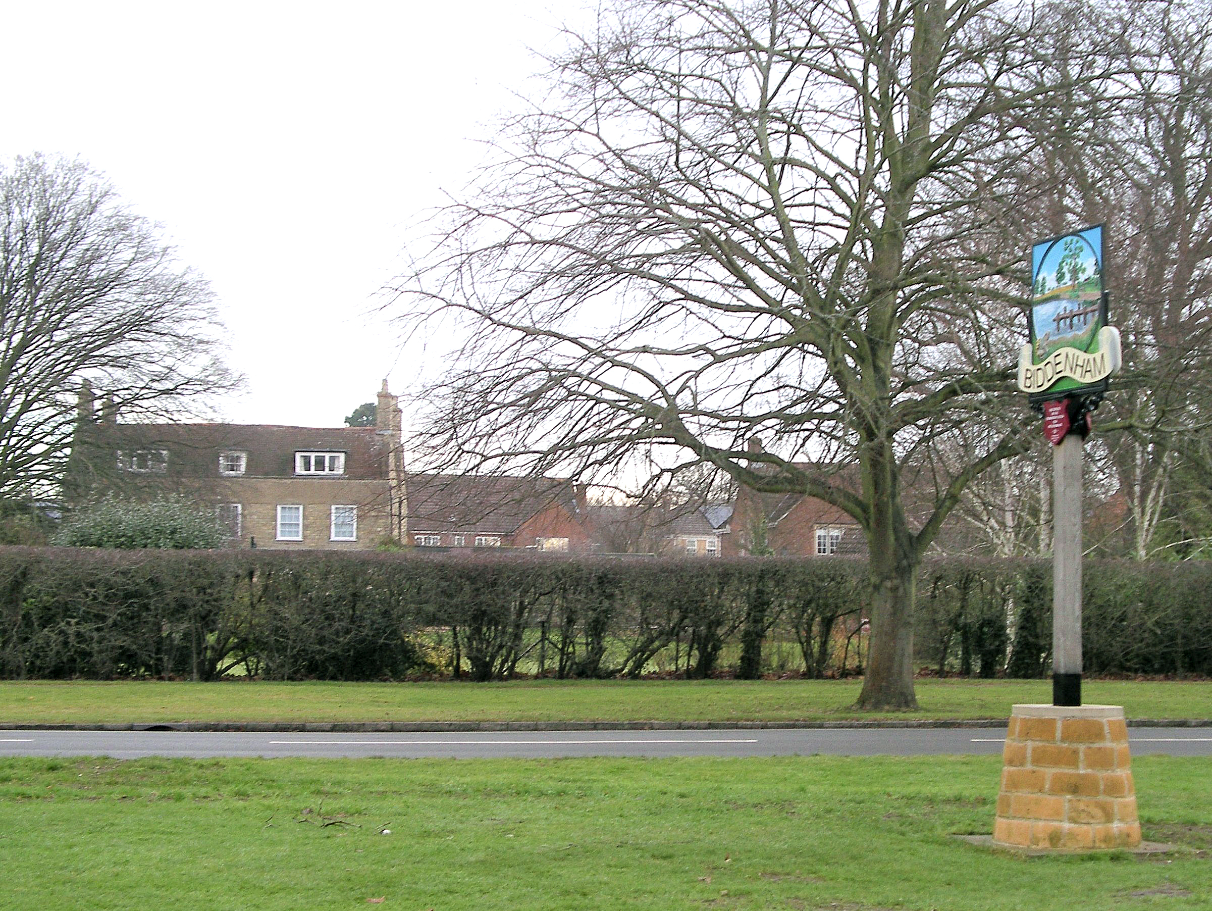 APPLICATION TO DEMOLISH BIDDENHAM HOUSE AND BUILD 8 NEW DWELLINGS ON THE  SITE