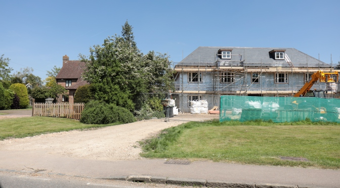 PROPERTY ON MAIN ROAD IS INAPPROPRIATE TO IT'S SETTING – 24 May '18