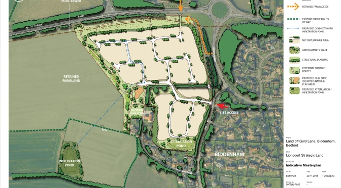 Gold Lane developer back with 160 dwellings proposal